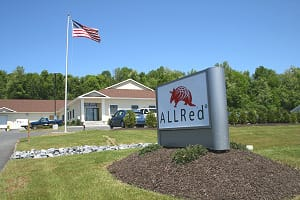 Draginplate is manufactured by Allred and Associates at their Central New York location