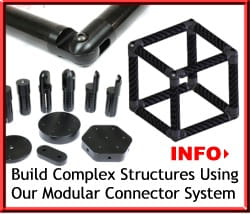 Build Structures with Carbon Fiber Connectors