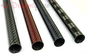 Carbon Fiber Tube Faces