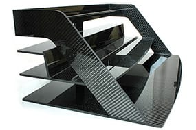 carbon fiber magazine rack