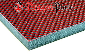 Two 8x12 .080 Thick Sheets Carbon Fiber Pattern Thermoform Sheet
