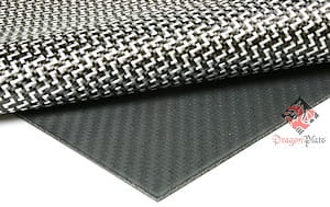 "Carbon Fiber Dyneema Core Sheet - 1/8"" x 24"" x 48"""