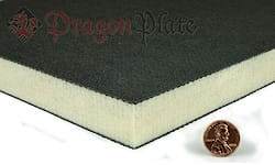 "Divinycell H100 1"" Foam Core - 3 Layer Carbon Fiber  6"" x 36"""