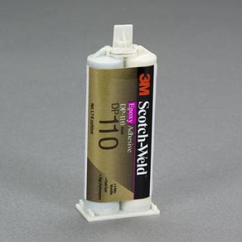 3M Scotch-Weld Epoxy Adhesive DP110 Gray 50ml Duo-Pak