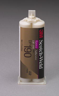 3M Scotch-Weld Epoxy Adhesive DP190 Gray Duo-Pak