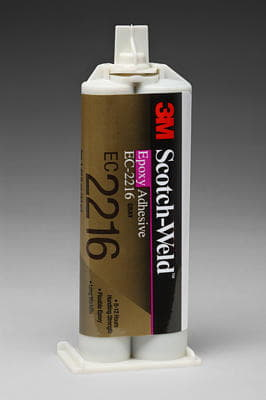 3M Scotch-Weld Epoxy Adhesive EC-2216 Gray 43M  Duo-Pak