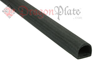 "Carbon Fiber Straight D-Tube .5"" x .39"" x 6"""