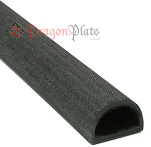 "Carbon Fiber Straight D-Tube .75"" x .5"" x 16"""