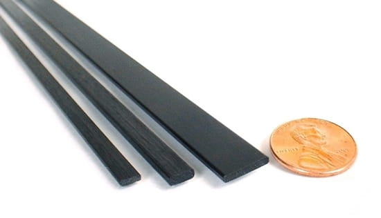Rectangle Carbon Fiber Strip