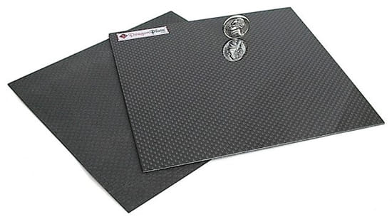 Quasi-isotropic Solid Carbon Fiber Sheet