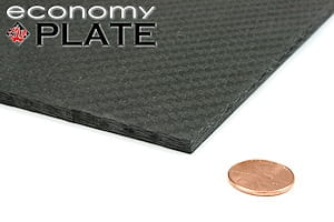 "Picture for category 1/4"" Economy Carbon Fiber Sheets"