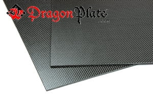"Picture for category 1/8"" Two Sided Matte Quasi-isotropic Carbon Fiber Sheets"