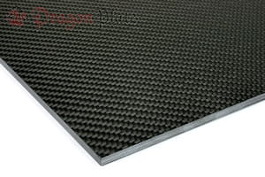 "Picture for category 3/16"" 0/90 Carbon Fiber High Modulus Twill/Uni Sheets"