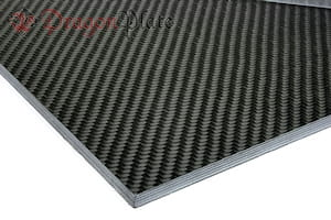 "Picture for category 1/4"" 0/90 Carbon Fiber High Modulus Twill/Uni Sheets"