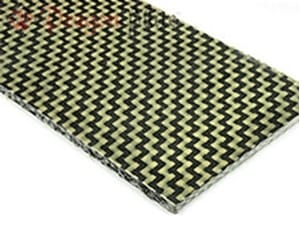 Picture for category Carbon/Kevlar Hybrid Sheets