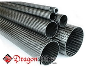 Picture for category Flame Retardant Braided Carbon Fiber Round Tubes