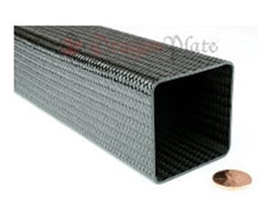 Picture for category Flame Retardant Braided Carbon Fiber Square/Rectangular Tubes
