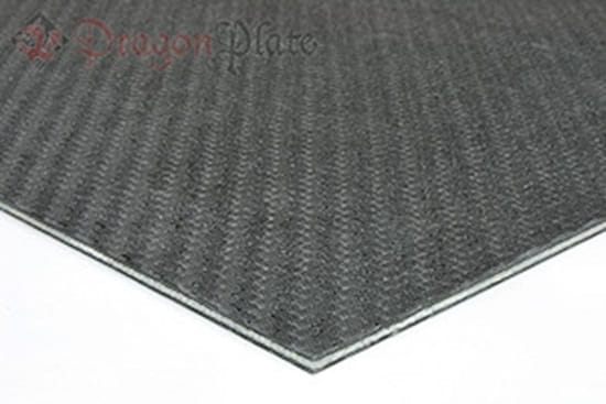 Carbon/Kevlar Core Hybrid Sheet
