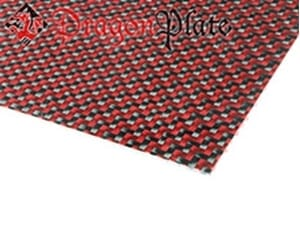 Picture for category Twill Weave Carbon/Kevlar (Red) Veneer