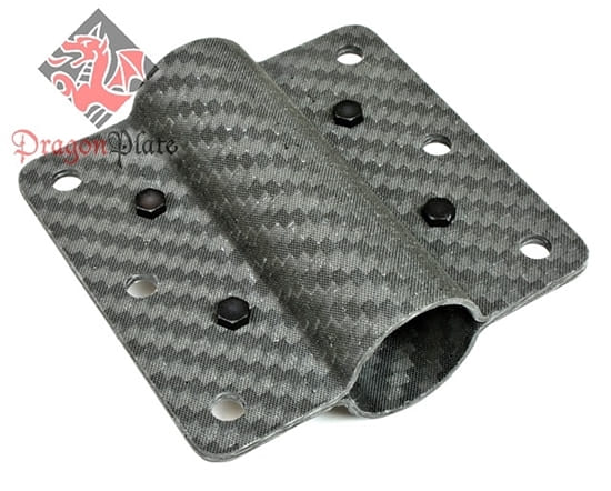 Carbon Fiber Exterior Mounted Bracket 3-3
