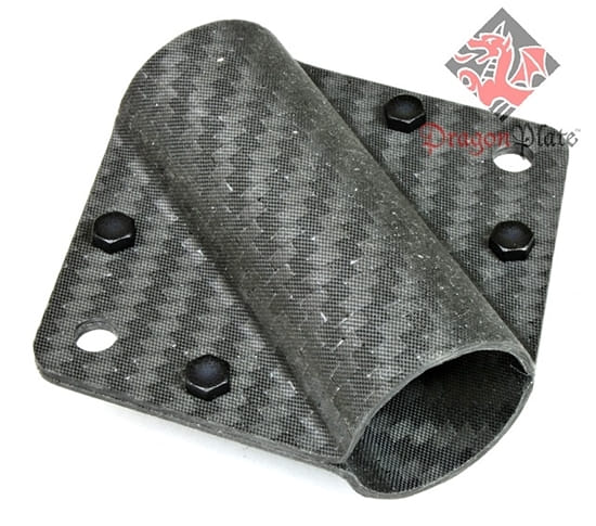 Carbon Fiber Exterior Mounted Bracket 1-1
