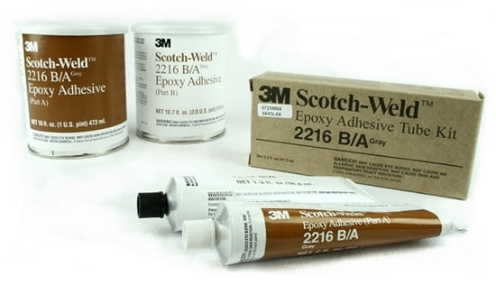 3M Scotch-Weld Epoxy Adhesive 2216 B/A Gray Tube Kit