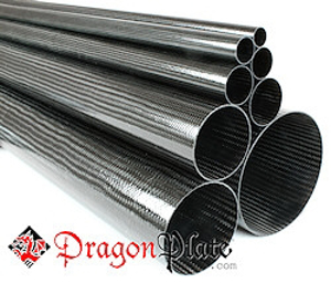 Picture for category Braided Standard Carbon Fiber Round Tubes