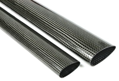 NEW! Streamlined Symmetrical Airfoil Carbon Fiber Tubing