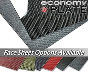 Picture for category EconomyPlate™ Carbon Fiber Sheets