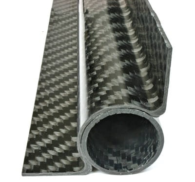 NEW! Carbon Fiber 90 Degree Tangent Tube Mount