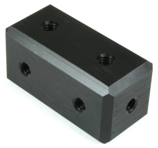 """Picture of Modular 1X2 Block for 0.5"""" connectors"""
