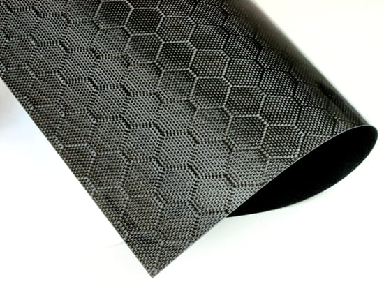 Honeycomb Weave Carbon Fiber Veneer