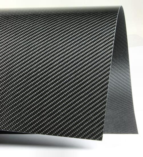 Twill Narrow Weave Carbon Fiber Veneer
