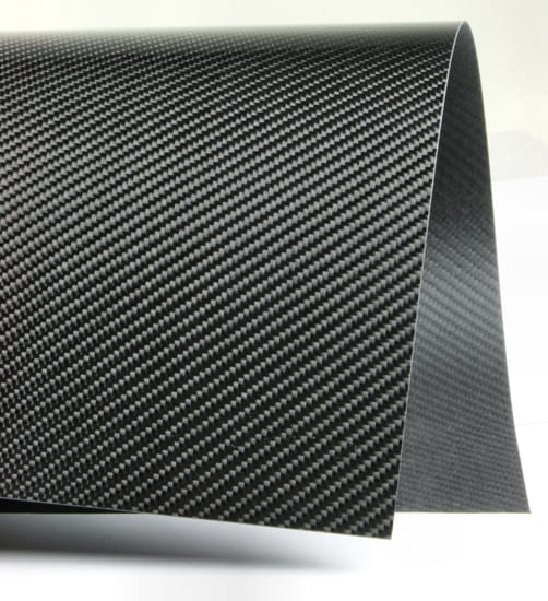 Twill Narrow Weave Carbon Fiber Veneer