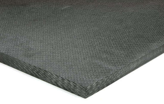 "Picture of EconomyPlate™ Solid Carbon Fiber Sheet ~ 3/4"" x 24"" x 24"""