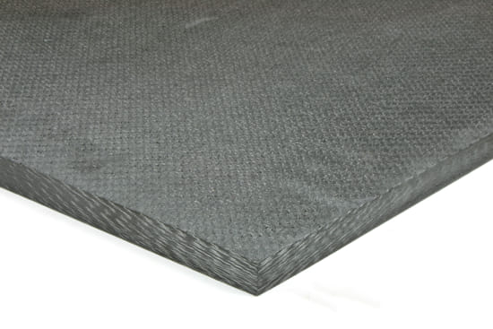 "Picture of Quasi-isotropic Solid Carbon Fiber Sheet ~ 1/2"" x 24"" x 24"""