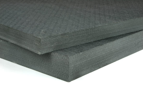 "0/90 Degree Carbon Fiber Twill Prepreg Sheet ~ 1.25"" x 24"" x 24"""