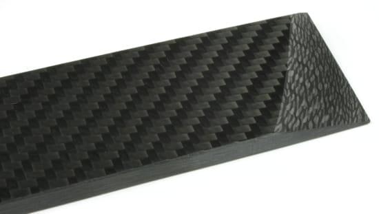"ArtisanPlate™ All-Twill Carbon Fiber Sheet - 1/4"" x 12"" x 12"""