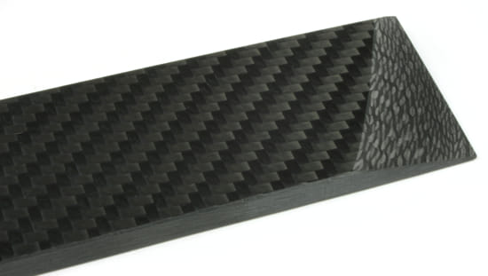 "ArtisanPlate™ All-Twill Carbon Fiber Sheet - 3/8"" x 12"" x 12"""