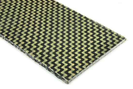 Carbon/Kevlar Hybrid Sheet