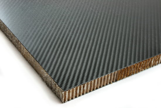 "Carbon Fiber Nomex Honeycomb Core 0.75"" x 12"" x 12"""