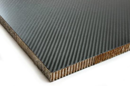 """Carbon Fiber Nomex Honeycomb Core 0.75"""" x 24"""" x 24"""""""