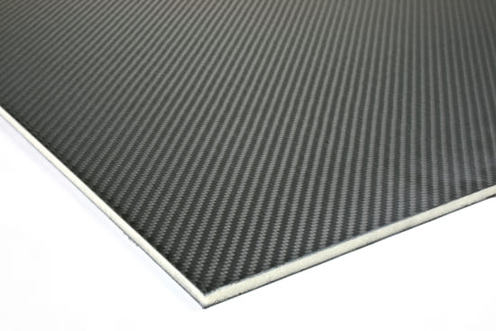 """Carbon Fiber Prepreg LAST-A-FOAM® Core Sheet 0.25"""" x 24"""" x 24"""""""