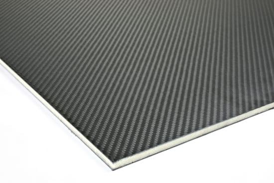"""Carbon Fiber Prepreg LAST-A-FOAM® Core Sheet 0.25"""" x 24"""" x 36"""""""