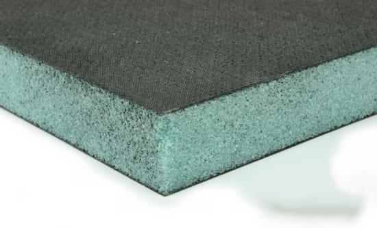 """EconomyPlate Airex C70-40 1"""" Foam Core Carbon Fiber Sheet - 12"""" x 12"""""""