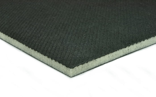 "EconomyPlate Divinycell H100 .25"" Foam Core Carbon Fiber Sheet - 12"" x 12"""