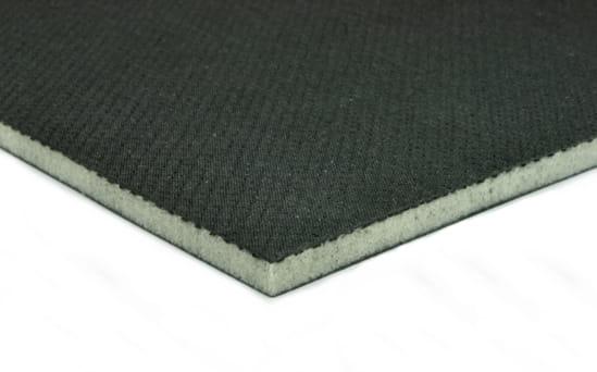 "EconomyPlate Divinycell H100 .25"" Foam Core Carbon Fiber Sheet - 12"" x 24"""