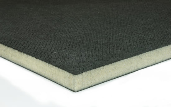 "EconomyPlate Divinycell H100 .5"" Foam Core Carbon Fiber Sheet - 12"" x 24"""