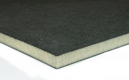 "EconomyPlate Divinycell H100 .5"" Foam Core Carbon Fiber Sheet - 24"" x 24"""