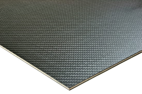 "Carbon Fiber Prepreg Birch Core ~ 1mm x 24"" x 24"""